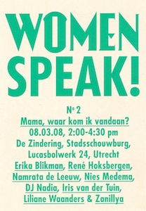 women speak